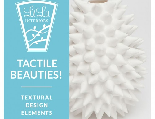 Tactile Beauties!: A Round Up of Textural Design Elements