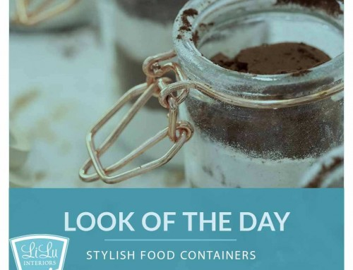 Stylish Food Containers – LiLu's Look of the Day