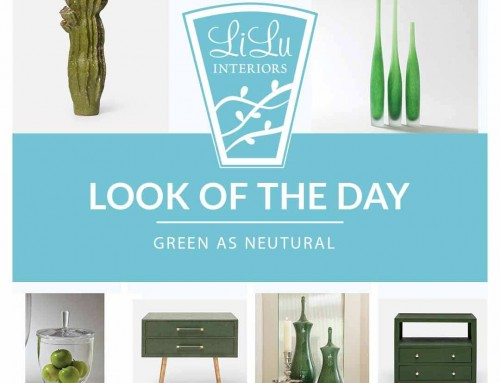Green as Neutral – LiLu's Look of the Day