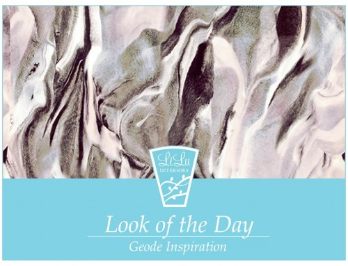 Geode Inspiration-Look of the Day