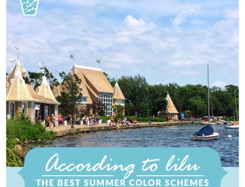 The Best Summer Color Schemes-According to LiLu