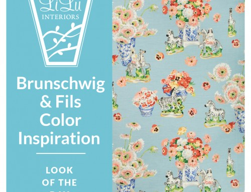 Color Inspiration: Brunschwig & Fils Gillian's Zebra