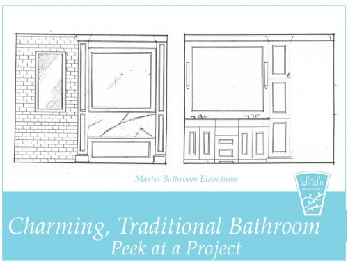 Charming Traditional Bathroom Remodel – Peek at a Project
