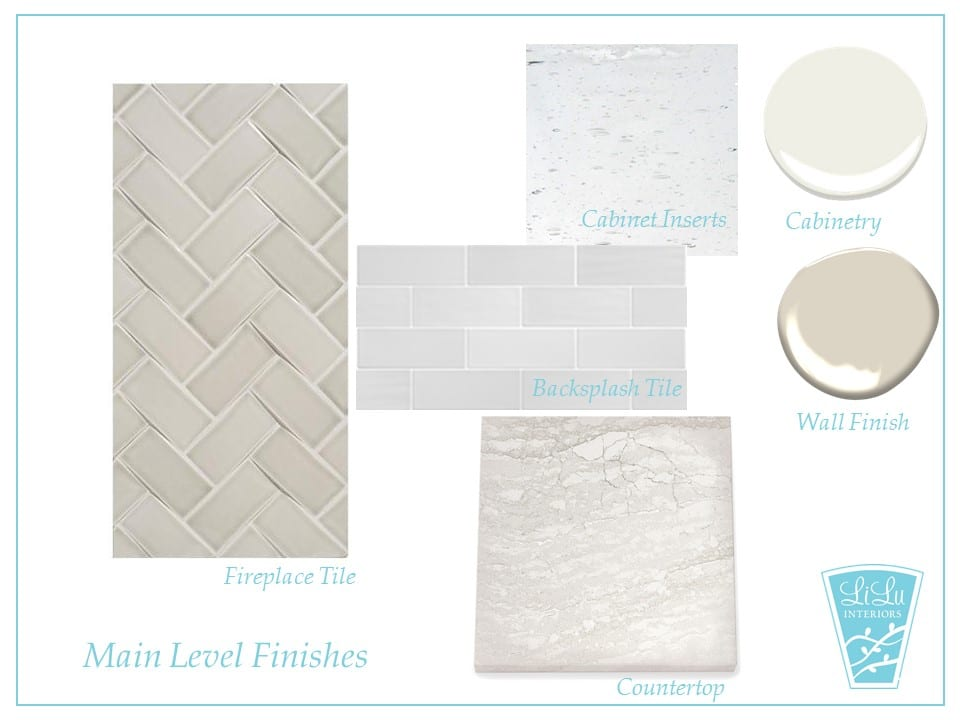 Charming Traditional Kitchen Remodel finishes mood board #finishes #kitchenremodel #kitchendesign
