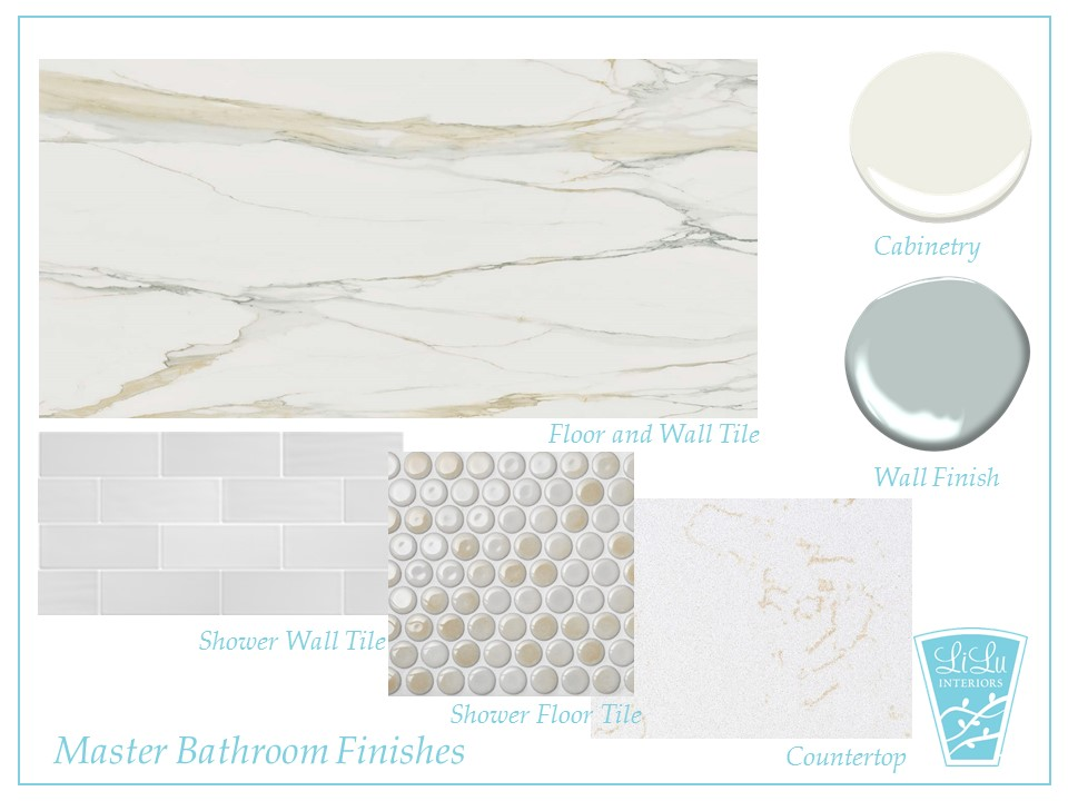 Charming Traditional bathroom Remodel finishes mood board #finishes #bathroomremodel #bathroomdesign
