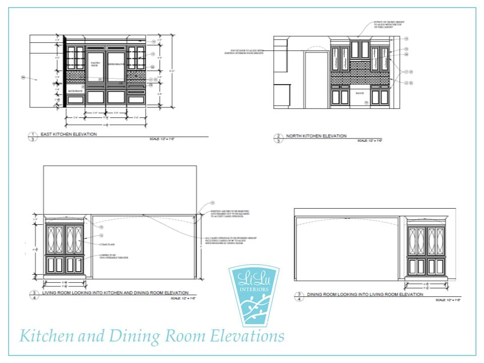 Charming Traditional Kitchen Remodel elevations #kitchen #cabinetry #customkitchen #kitchenideas