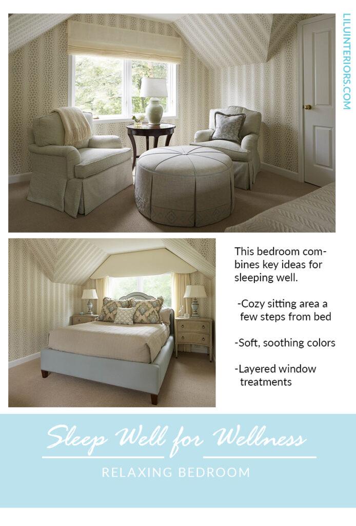 How Interior Design Can Help You Sleep Your Way to Wellness #interiordesign #bedroomdecor #wellness