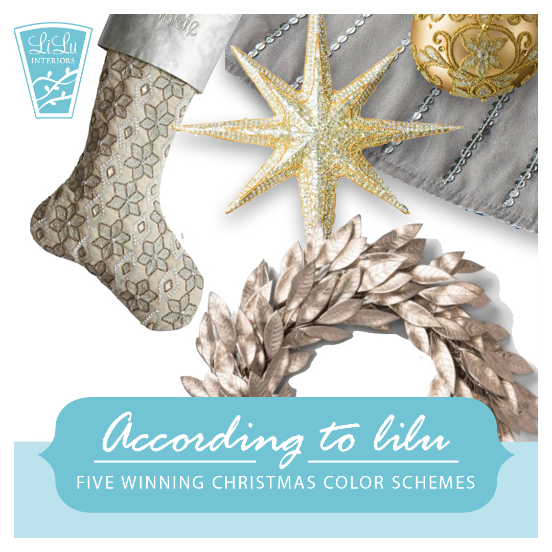 Five Winning Christmas Color Schemes-Blue