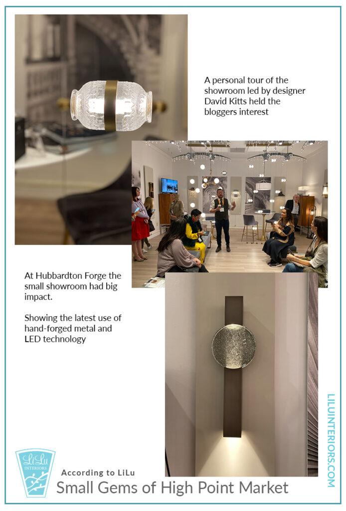 Small Gems of High Point Market - Hubbardton Forge #interiordesign #lighting #highpointmarket #HPMKT
