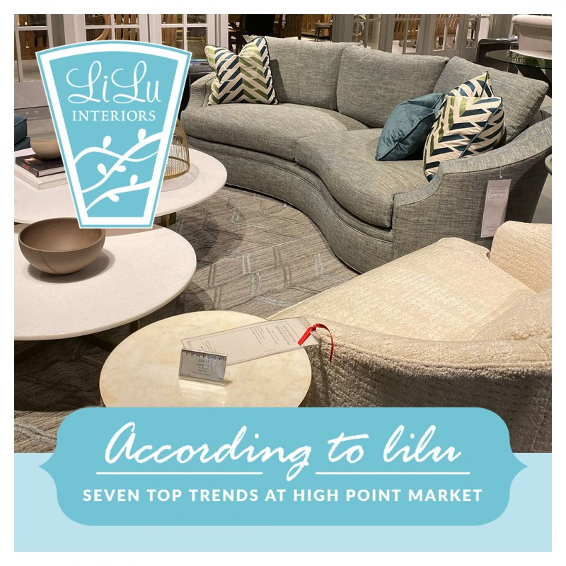 Top Trends at High Point Market 2019 CLICK FOR MORE #interiordesign #interiortrends #hpmkt #interiordecor #furniture