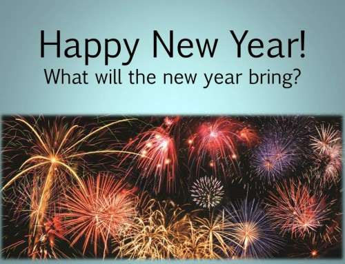 Happy New Year's – Resolutions Galore