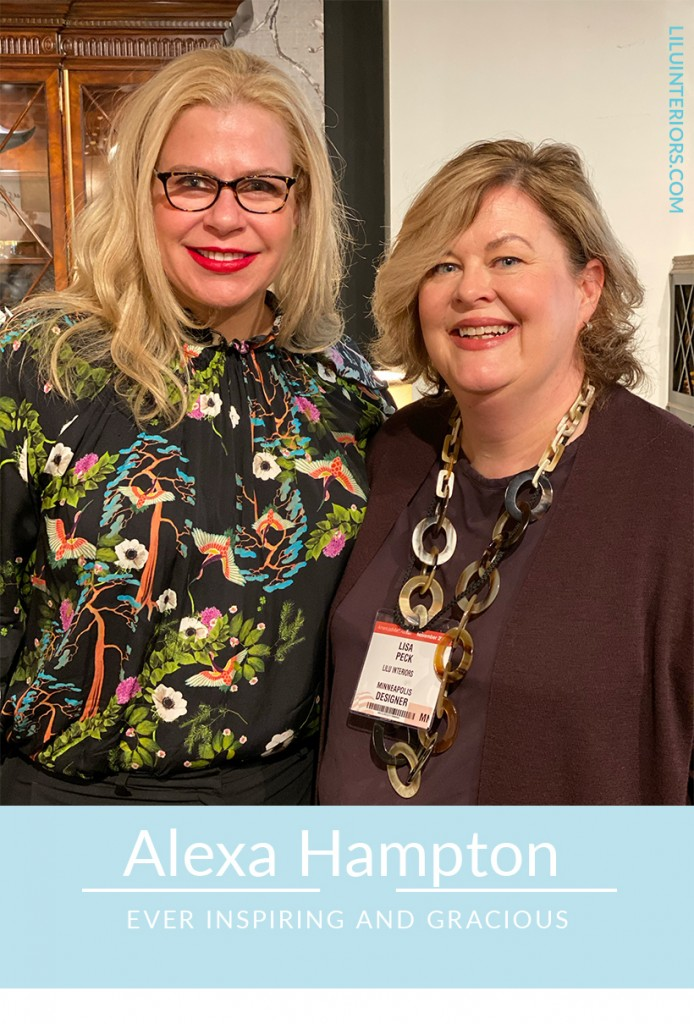 Learning and getting inspired with Alexa Hampton at Designer Experience READ MORE #interiordesigner #interiordesign #interiorinspiration #interiorideas #alexahampton