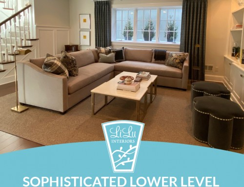 Sophisticated Lower Level: Peek at a Project PART TWO!