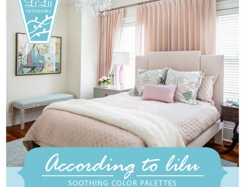 Soothing Color Palettes- LiLu's Look of the Day