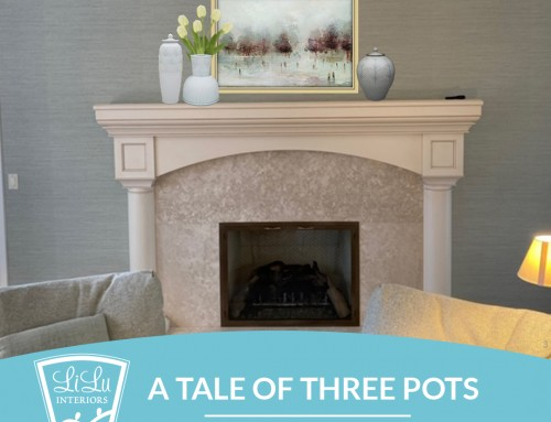 A Tale of Three Pots: Accessories for a Fireplace Mantel