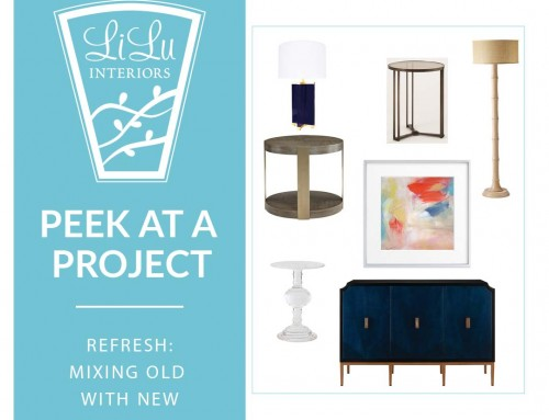 Refresh: Mixing Old with New – Peek at a Project