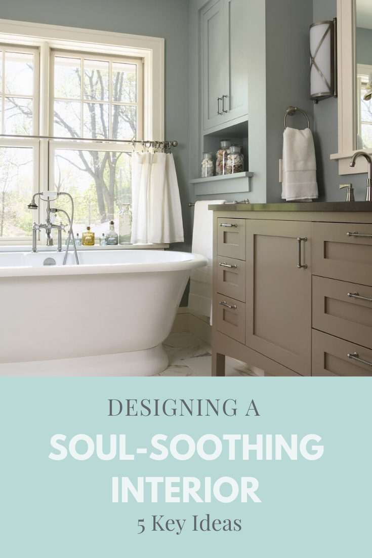 How to create a soul-soothing interior with advice from professional interior designers LiLu Interiors CLICK FOR MORE #interiordesign #soothing #soothingcolors #interiordesignideas #softtextures #interiordecor #mint #bluegreen #cozyhome #accessories #homeaccessories #styling