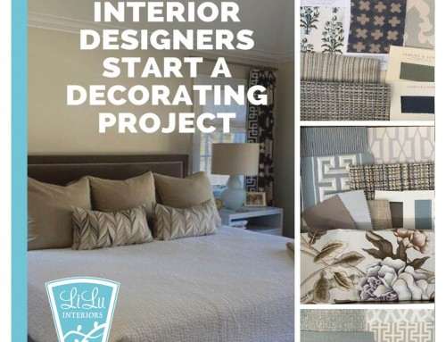 How the best designers start a decorating project to maximize client satisfaction: Peek at a Master Bedroom Design