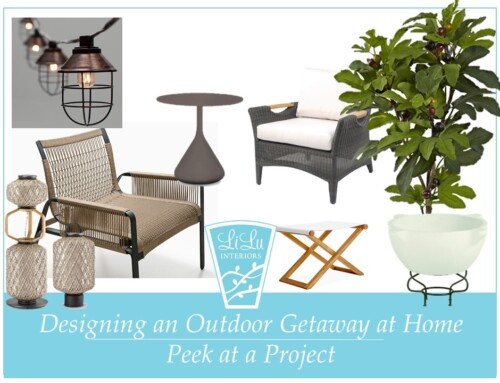 Designing an Outdoor Getaway Space at Home: Peek at Project with LiLu Interiors