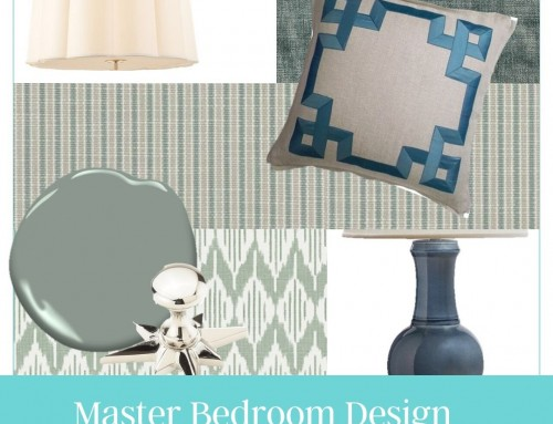 Anatomy of a Decorating Project: Master Bedroom Design Part 2